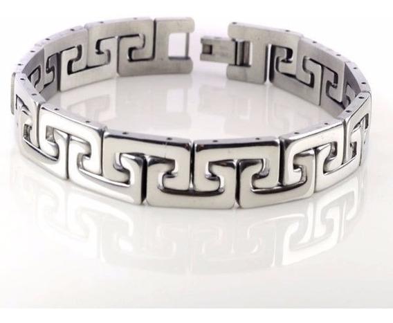 Pulseira Bracelete Masculina Bracelete Aço Inox 316l P12