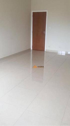 Imagem 1 de 25 de Apartamento Para Alugar, 96 M² Por R$ 1.100,00/mês - Centro - Ribeirão Preto/sp - Ap2733