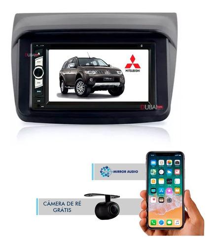 Central Multimídia Dvd Mitsubish Pajero Dakar Plug Original