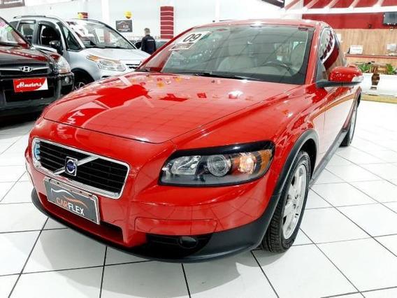 Volvo C30 2.0 145cv 2009 Vermelho Único Dono Baixa Km