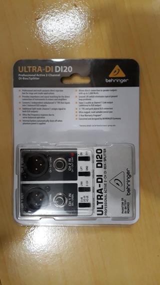 Di20 Direct Box Ativo Behringer Ultra Di