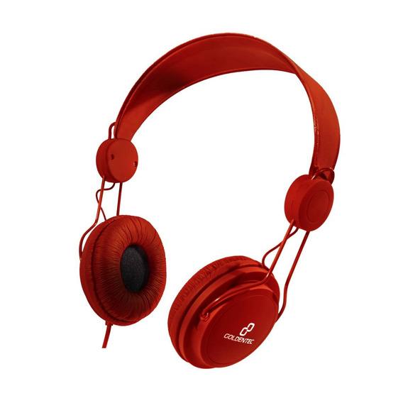 Headset Goldentec Gt Soul Colors Vermelho