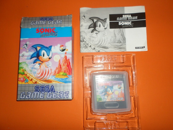 Cartucho Sonic The Hedgehog Original Para Game Gear