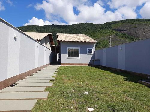 Imagem 1 de 14 de Gam6 Lindíssimas Casas Com Quintal Em Itaipuaçú !!!!