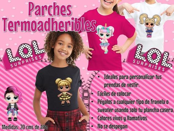 Muñecas Lol Surprise X2 Parches Termoadheribles Sublimados