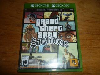 Grand Theft Auto San Andreas Xbox One Xbox 360