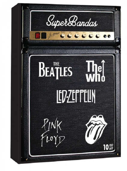 Super Bandas The Beatles, The Who, Led Zeppelin, Pink Floyd