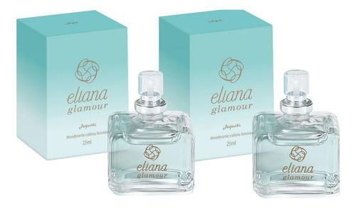 Deo Colônia Eliana Glamour 25ml (2 Unidades) - Jequiti
