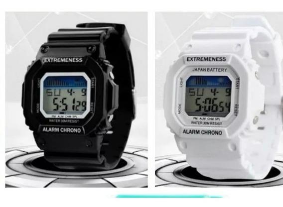 Kit 4 Relógios Unissex Juvenil Skmei - Resistente Água