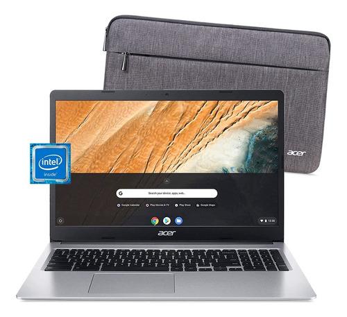 Imagen 1 de 10 de Chromebook Acer 315 N4000 4gb 32gb Notebook 15.6 Chrome Os