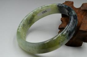 Tam:62mm Natural Jade Chinês Esculpida A Mão Pulseira,
