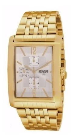 Relógio Feminino Séculus Dourado
