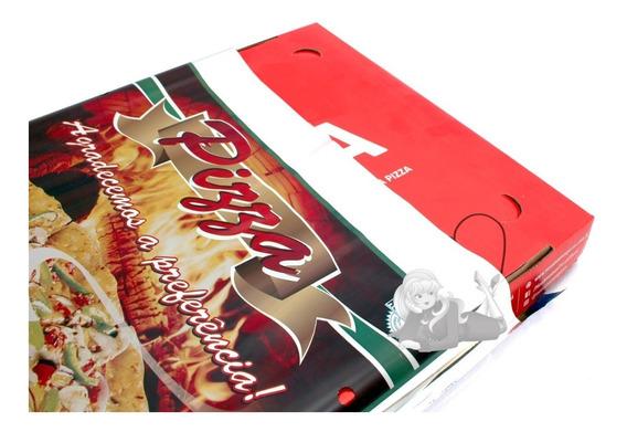 Embalagem Envelope Térmica Para Pizza 44x44 Cm - 250 Unid
