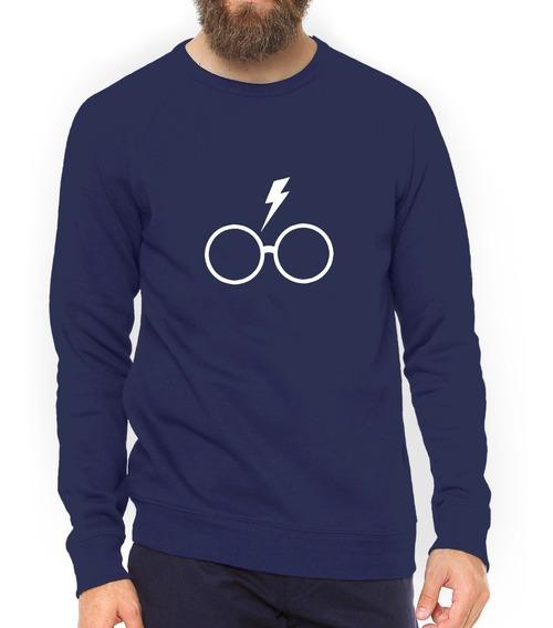 Moletom Harry Potter Fã Óculos Blusa Alta Qualidade #gr30