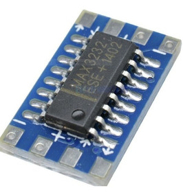 Kit 02 Pcs Max-3232- Mini Modulo Conversor Rs232 P/ Ttl