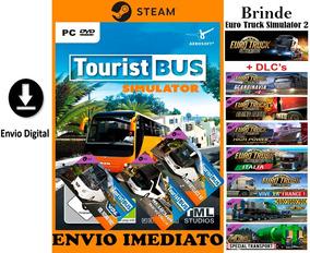 Tourist Bus Simulator Pc Original Steam + Dlc + Brinde