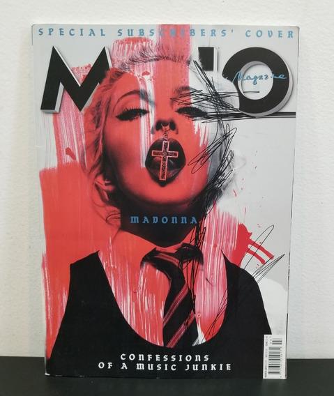 Revista Mojo Madonna Confessions Of Music Junkie Março 2015