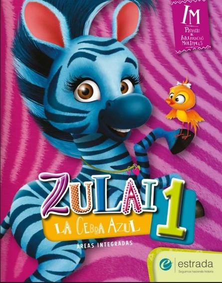 Kit Imprimible Zulai 1 La Cebra Azul - Digital