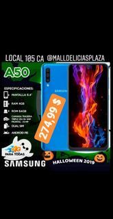 Samsung A50 64 + 64 Gb Nuevo De Paquete