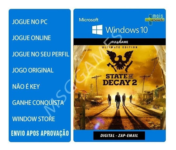 State Of Decay 2 Ultimate Edition Pc Online Original