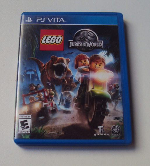 Lego Jurassic World Original Para Ps Vita
