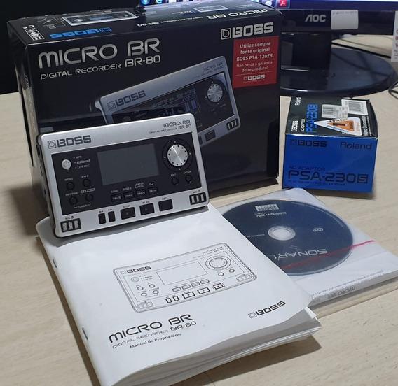 Gravador Boss Micro Br 80