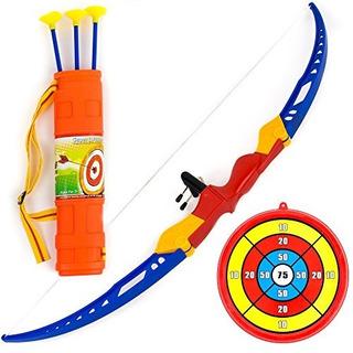 Conjunto De Juguete Con Arco Y Flecha Arrowery Kids Archery