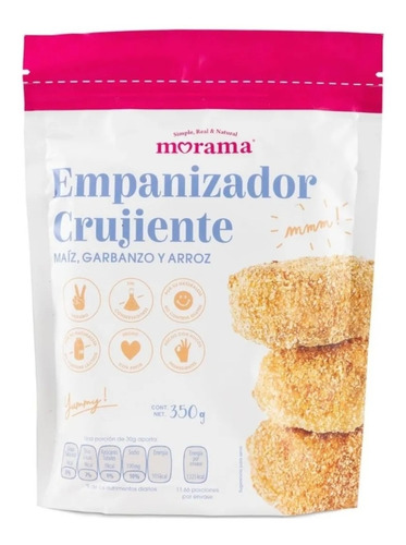 Imagen 1 de 9 de Empanizador Crujiente Sin Gluten Vegano Keto Morama-fralugio