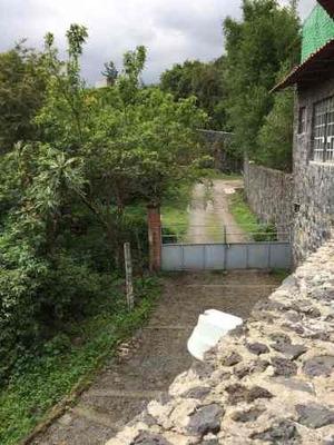 Se Vende Casa Y Terreno En Tepoztlán (con Infraestructura Para Hotel)