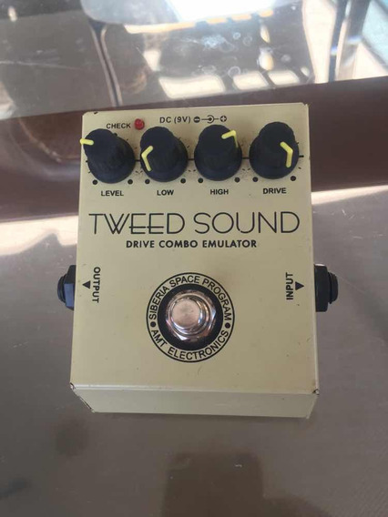 Pedal Tweed Sound Amt - Drive Combo Emulator - Overdrive