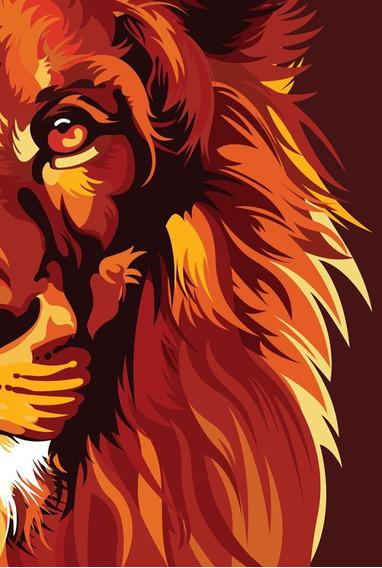 Bíblia Nvt Sankto Lion Colors Fire Letra Normal
