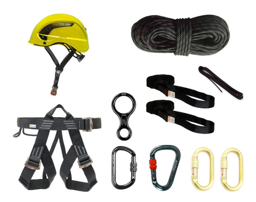 Kit R53 Rapel Completo - Montana Controlsafe - For Rope - K2