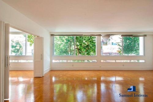 Imagem 1 de 27 de Apartamento Com 3 Dormitórios, 247 M² - Venda Por R$ 4.800.000,00 Ou Aluguel Por R$ 14.000,00/mês - Cerqueira César - São Paulo/sp - Ap4108