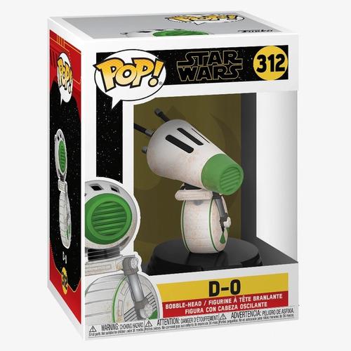 Funko Pop Star Wars D-o 312 Original Nuevo Coleccionable
