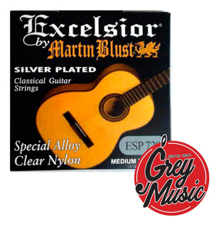 Encordado Martin Blust Esp720 Para Clásica Silver Plated