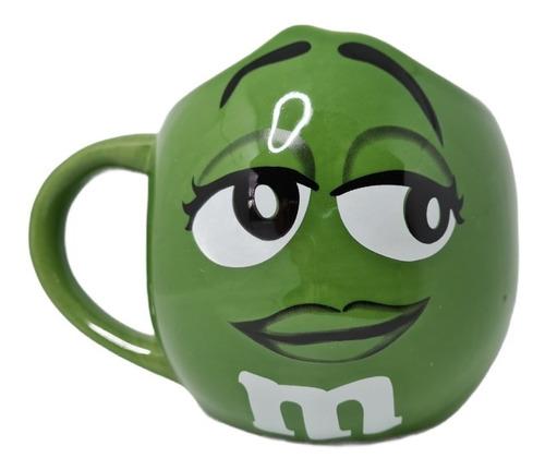 Imagen 1 de 3 de Mug Taza Pocillo M&m M And M Mm Mym