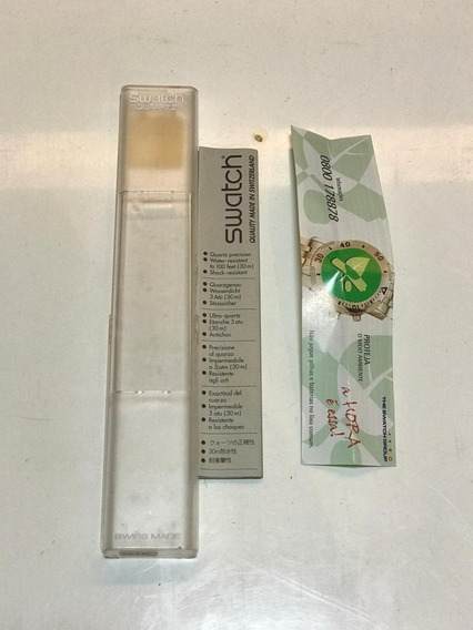 Relogio Swatch Anos 90 Caixa E Manual