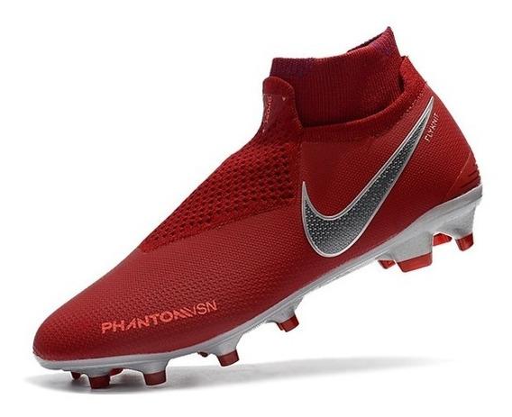 Zapatillas Nike Futbol Phantom Vision Terracota 39-45
