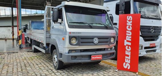 Vw 8.160 Delivery 2013 Carroceria Ferro Munck Selectrucks