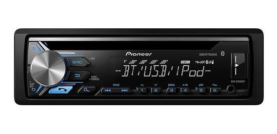 Estéreo para auto Pioneer DEH X3950BT negro