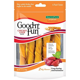 Goodnfun Twinks De Cuero Crudo Receta De Hígado De Pollo 6c