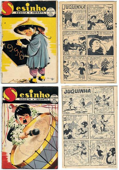 Luc009 Doze Revistas Infantil Sesinho Ano 1956 Nº 97 Ao 108