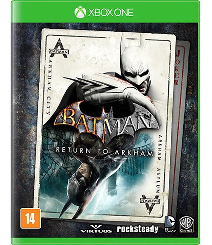 Batman Return To Arkham Xbox One Mídia Digital + 1 Jogo
