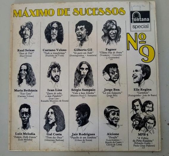 Lp Máximo De Sucessos 1973 Original Fontana Raul Seixas