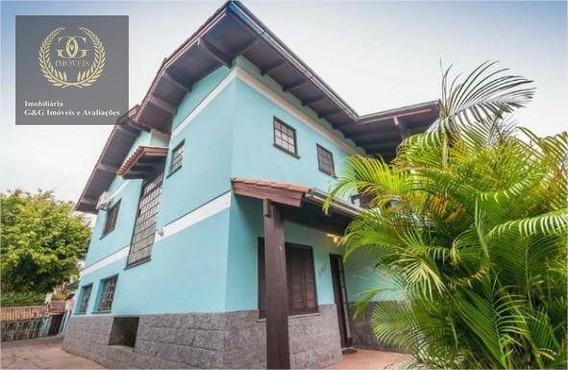 Casa Com 5 Dormitórios, Bairro Ipanema- Porto Alegre - Ca0396