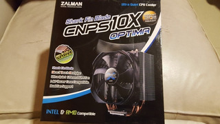 Cooler Disipador Zalman Cnps10x Optima Intel Amd Factura