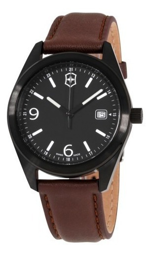 Promoção Relógio Victorinox Garrison Black 26073.cb Original