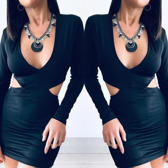Vestido Lycra Mujer Corto Al Cuerpo M18111