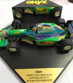 Miniatura Benetton B194 Michael Schumacher 1/24 - Onyx