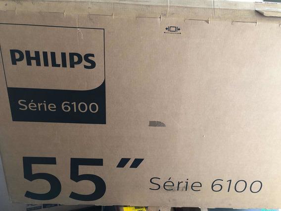 Tv 55 Phillips 4k Com O Display Avariado
